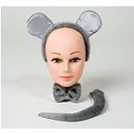 Maus Mäuse -Set Karneval Fasching Kostüm Party