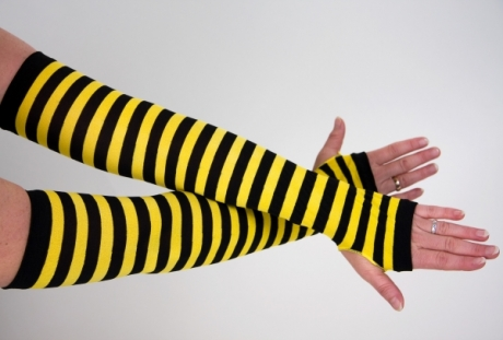Biene Marienkäfer Armstulpen Handschuhe
