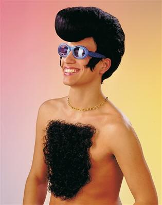 Brusthaartoupet Partyspass Karneval Fasching Kostüm