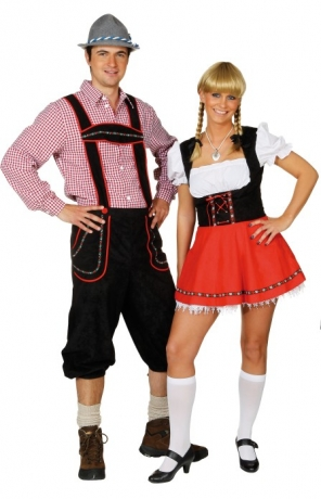 Kariertes Hemd Seppel Bayern Bub Karneval Oktoberfest