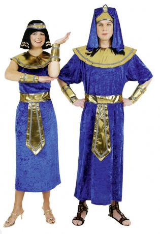Pharao Ägypter Mann / Frau Karneval Fasching Kostüm
