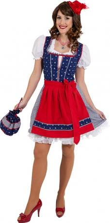 Dirndl Franzi Oktoberfest Damendirndl Bayernmädchen Trachtenkleid