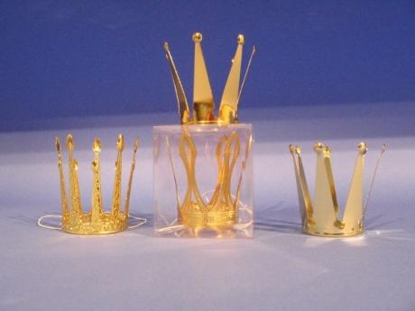 Krone Königin Prinzessin Metallkrönchen Karneval Fasching Party