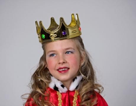 Königskrone für Kinder Kopfbedeckung Kinderkrone Zubehör Prinz und Kön