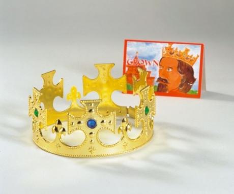 Krone König Schloss Karneval Fasching Kostüm Party