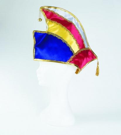 Prinzenmütze Prinzengarde 4-farbig Karneval Fasching