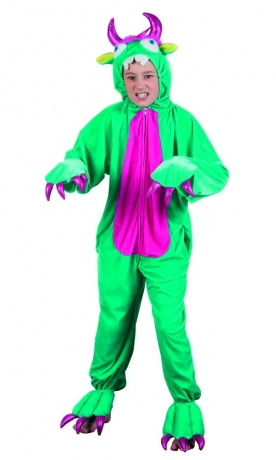 Plüschtier Monster Kinderkostüm Overall Tierkostüm Jumpsuit