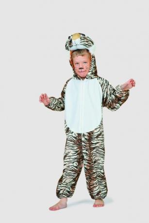 Tiger Kinderkostüm Tierkostüm Kinderfasching Karneval