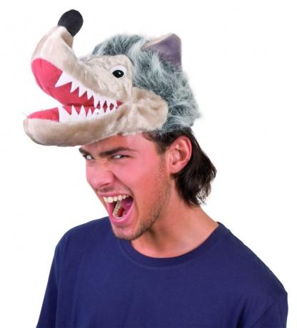 Wolf Wolfsmütze Karneval Fasching Kostüm Party