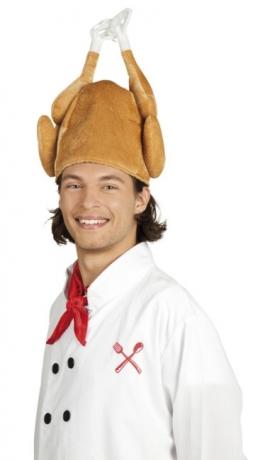 Huhn Hahn Henne Fried Chicken Hähnchen Hut Partyspass Karneval