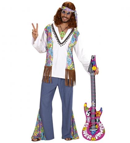 Aufblasbare Gitarre Luftgitarre Partyspass Musikinstrument