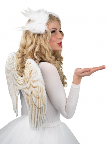 Engelsflügel massiv keine Federn Christkind Engel Weihnachtsengel