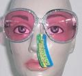 Disco Hippie Brille 70er 80er Jahre Karneval Fasching