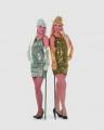 Paillettenkleid Budget Damenkleid Partykleid Fasching Übergrößen XXXL