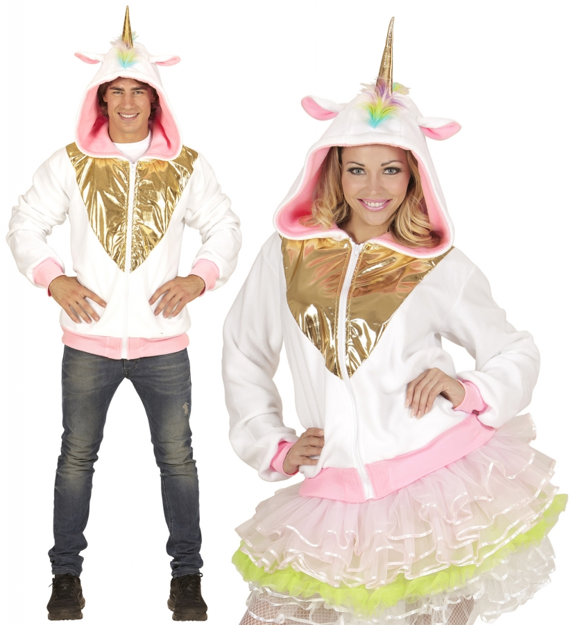 Einhorn Strickjacke Fabelwesen Pegasus Marchen Kostum Unicorn