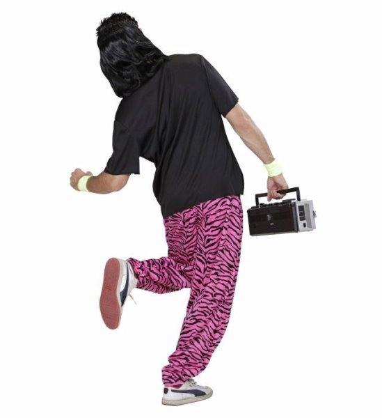 80er jahre outfit t shirt und karottenhose new kids baggy pants high waist. Black Bedroom Furniture Sets. Home Design Ideas