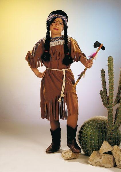 indianerin kinder kost m karneval fasching party. Black Bedroom Furniture Sets. Home Design Ideas
