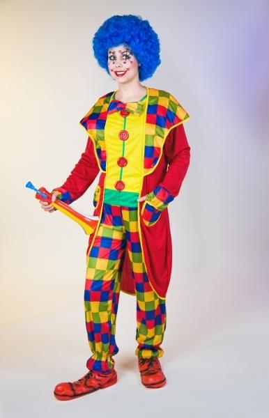 Clown Kostum Fasching Karneval Kinderparty