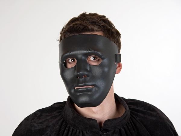 maske schwarz gesichtsmaske einfach bizzar fetisch rubber. Black Bedroom Furniture Sets. Home Design Ideas