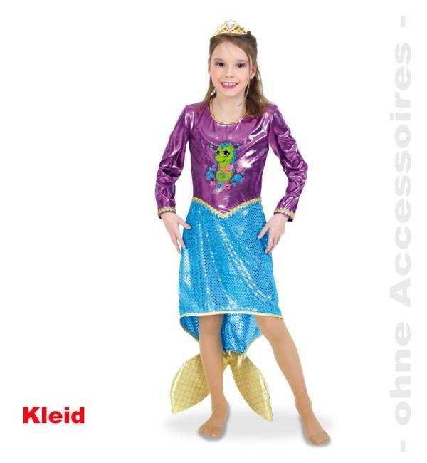 mermaid meerjungfrau kinderverkleidung kost m. Black Bedroom Furniture Sets. Home Design Ideas