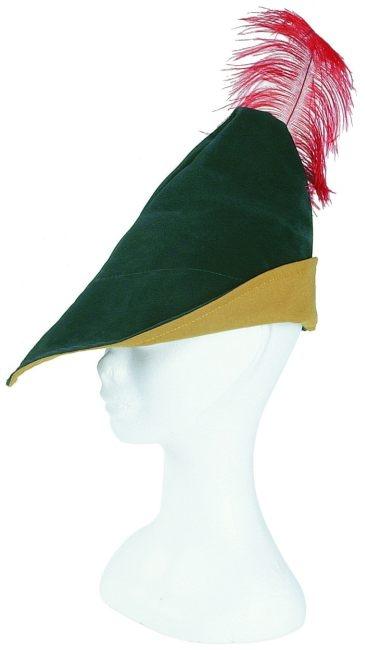 Robin Hood Hut Mit Feder Jager Mittelalter Marchen