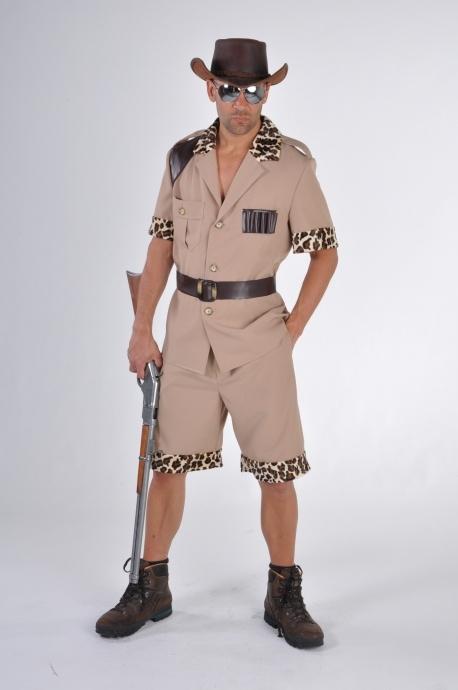 Safari Grosswildjager Kostum