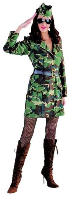 uniform kleid gi military bundeswehr damenkost m mottoparty. Black Bedroom Furniture Sets. Home Design Ideas