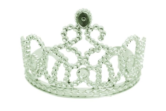 Diadem Prinzessin Basic Konigin Fasching Accessoires Zubehor Karneval
