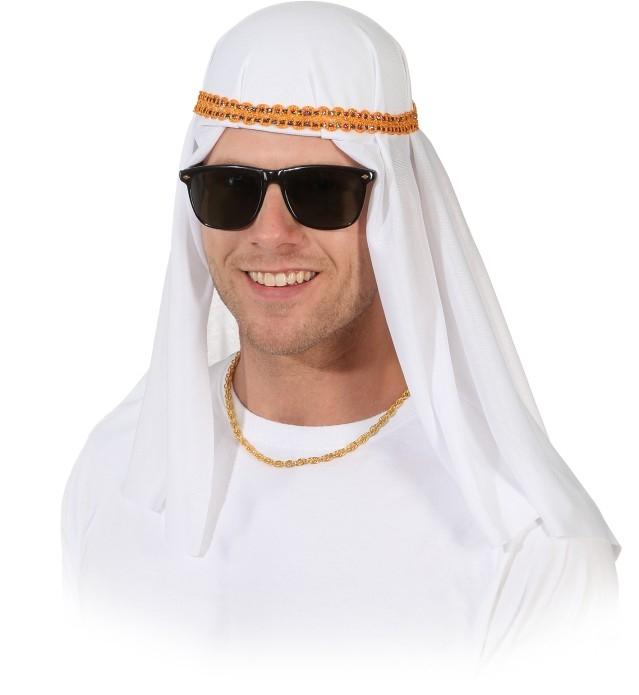scheichkappe kopfbedeckung araber orient 1001 nacht fasching zubeh r. Black Bedroom Furniture Sets. Home Design Ideas