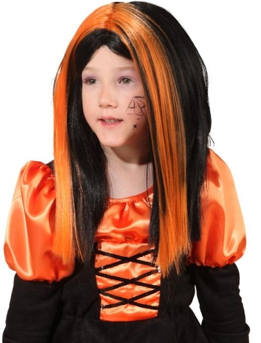 Hexe Perucke Kinderperucke Fasching Kinderparty Accessoires Halloween