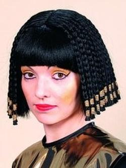 Cleopatra Nofretete Perucke Karneval Fasching Kostum