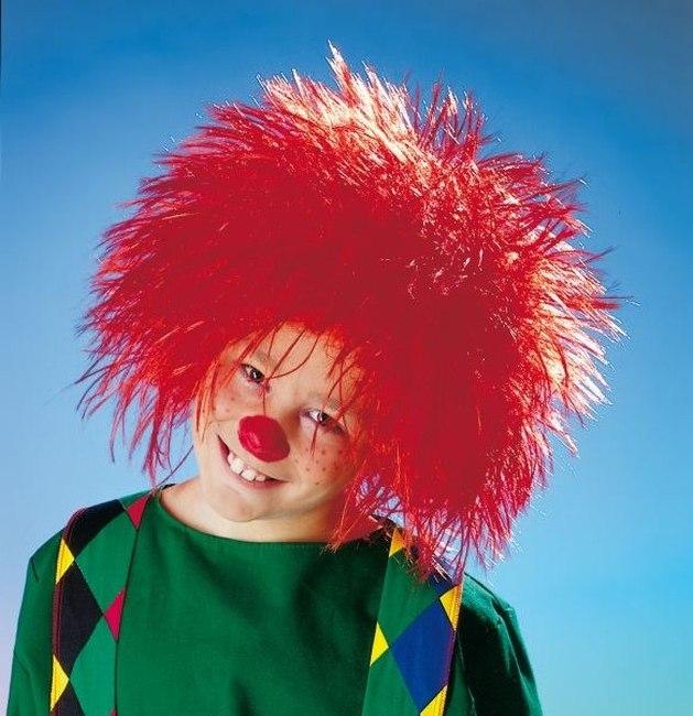 Kobold Perucke Ornage Karneval Fasching Kostum