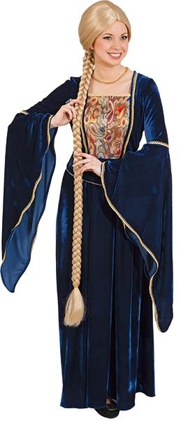 Online-Shop Top-Mode guter Verkauf Zopfperücke extra lang 120cm blond Märchenfigur lange Zopfperücke