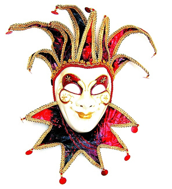 Joker venedig h ngend dekoration fasching karneval for Karneval dekoration