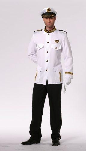 kapit n steward uniform karneval fasching kost m party. Black Bedroom Furniture Sets. Home Design Ideas