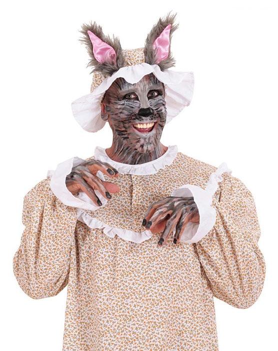 Wolf Wolfsmutze Mit Ohren Marchen Karneval Fasching Kostum
