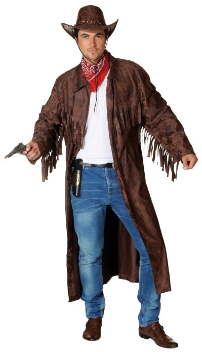 Cowboy mantel