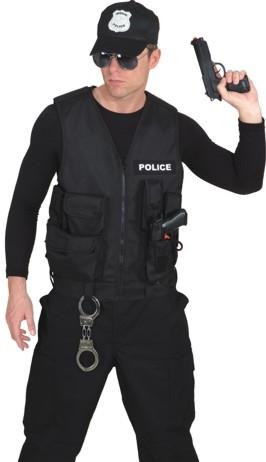 polizist policeweste polizeiweste karneval. Black Bedroom Furniture Sets. Home Design Ideas