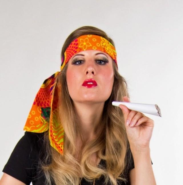 a035de85bb12be Hippie Stirnband Haarband Zubehör Karnevalsparty Hippieparty Fastnacht