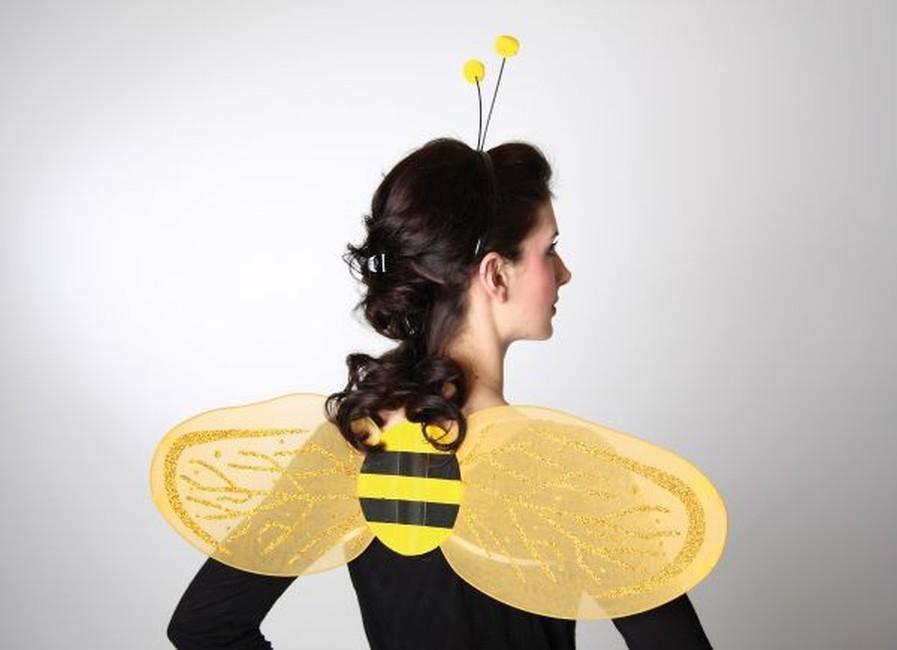 flügel biene kostüm