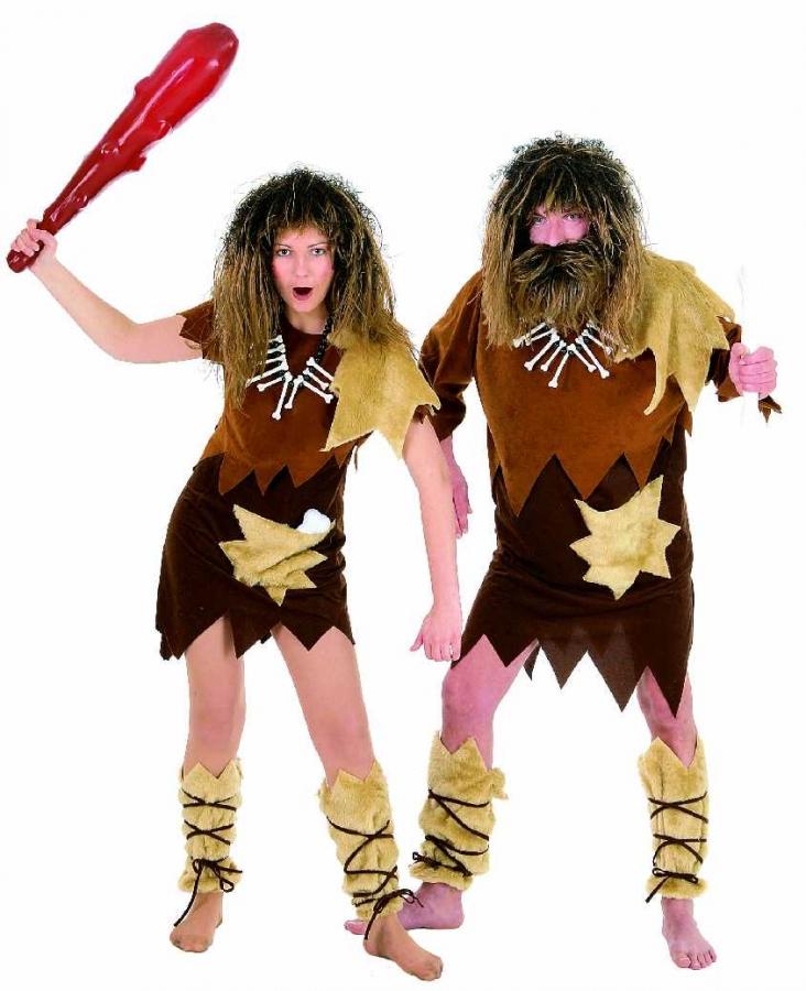 Steinzeit Neandertaler Hohlenmensch Wikinger Mann