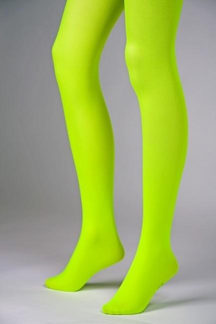 pinke blickdichte neonfarbene Strumpfhose Tanz Karneval Party