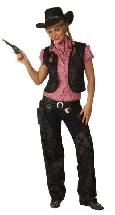 Wild West Chaps Damen Cowboy Karneval Fasching