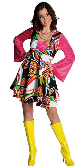 70er Babydoll Kleid Fantasy Kostüm Auch In übergröße