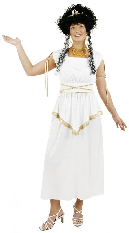 Griechin Gottin Damenkostum Verkleidung Karnevalkostum Romerin Kostum