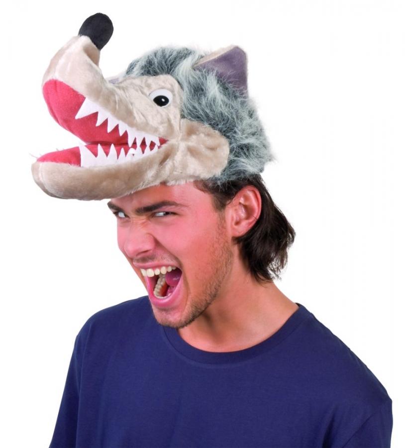 Wolf Wolfsmutze Karneval Fasching Kostum Party