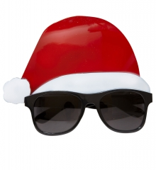 Nikolaus Weihnachtsmann Partybrille Weihnachtsmarkt Weihnachtsfeier