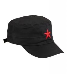 Mütze mit rotem Stern Freiheitskämpfer roter Stern Basecap