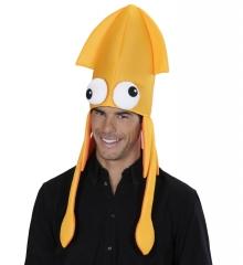 Tintenfisch Oktopus Krake Hut Calamar Mütze