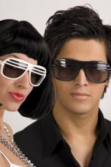 Brille Sonnenbrille Vegas Partybrille Accessoires